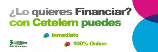 Financia tus compras con CETELEM