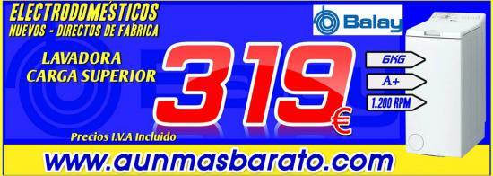 LAVADORA CARGA SUPERIOR 3TL865