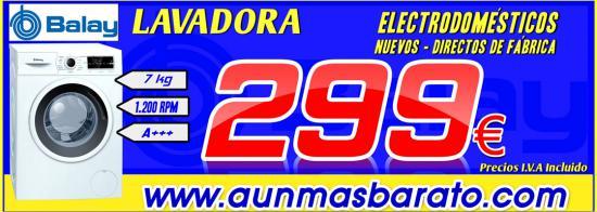 LAVADORA BALAY 3TS976BA