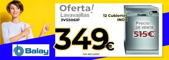 LAVAVAJILLAS BALAY 3VS506IP