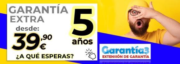 GARANTIA EXTRA DE 3 AÑOS