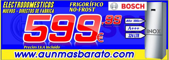 FRIGO BOSCH KGN36XI4P