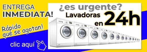LAVADORAS ENTREGA EN 24H