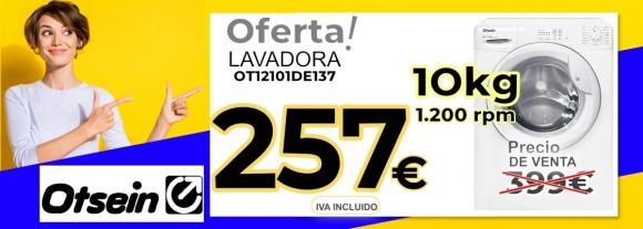 LAVADORA OTSEIN OT12101DE137