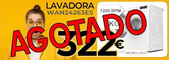 LAVADORA BOSCH WAN24263ES
