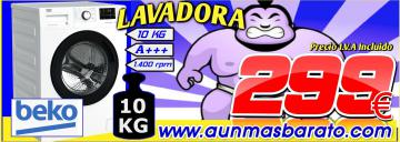 LAVADORA BEKO 10KG