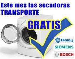 SECADORAS TRANSPORTE GRATIS
