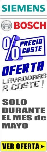 LAVADORAS A COSTE