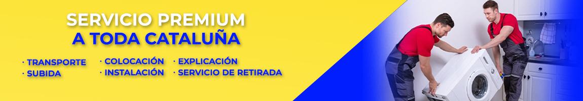 Servicio PREMIUM a toda Cataluña