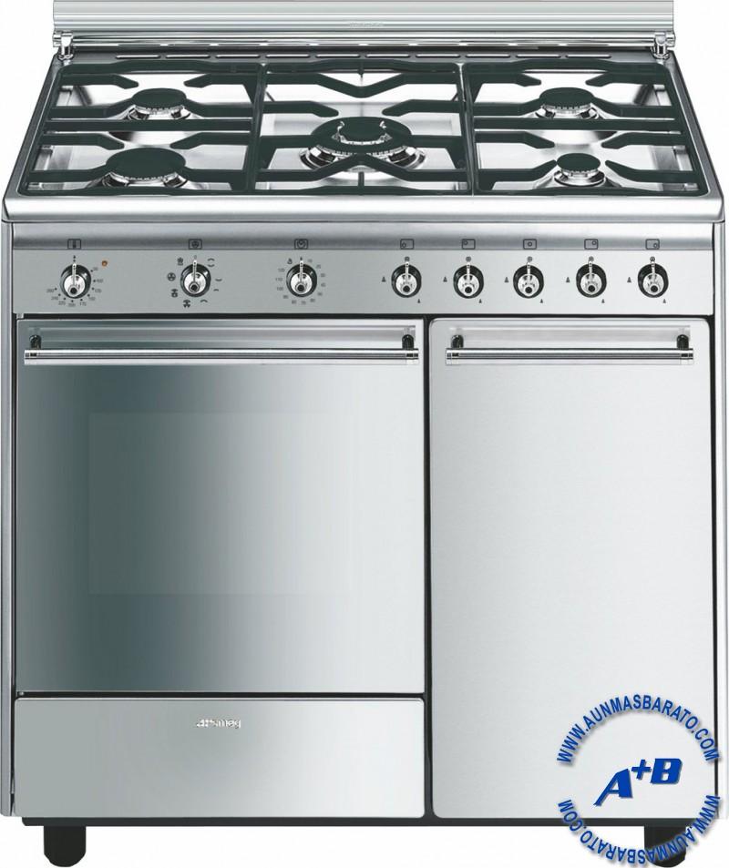 Cocinas de gas vitroceramicas de gas hornos de gas - Cocinas smeg precios ...