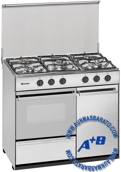 Cocina de gas meireles g2950dvx 5 fuegos inox precios for Cocinas a gas precios