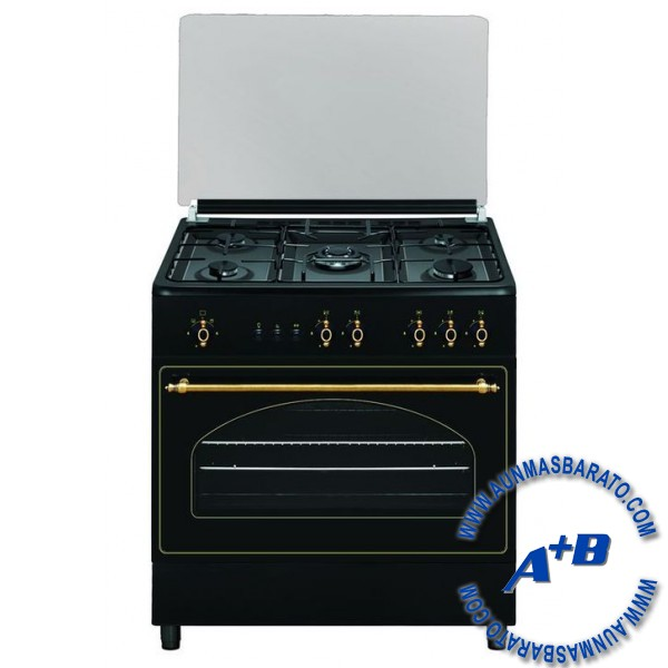 Cocina vitrokitchen ru9060b precios baratos comprar en for Cocinas de gas butano rusticas