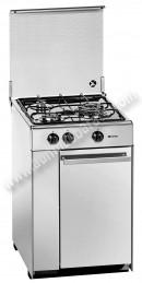 Cocina tradicional Meireles 5302DVX Inox 3 zonas