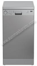 Lavavajillas Beko DFS05011X Inox Antihuellas 10 servicios 45cm A