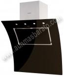 Campana Decorativa Nodor EVO 900 BK Cristal negro 90cm