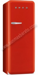 Frigorifico 1 puerta Anos 50 Smeg FAB28RR1 150cm Rojo