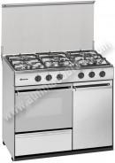 Cocina de gas meireles G2950DVX 5 fuegos INOX