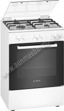 Cocina con encimera de gas Bosch HGA030D20 4 zonas Blanco