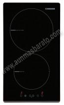 Vitroceramica modular Induccion Nodor I 2030 BK 2 zonas 30cm
