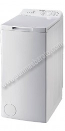 Lavadora Carga superior Indesit ITWA61052W 6kg 1000rpm Blanca A