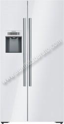 Frigorifico americano Siemens KA92DSW30 No Frost Cristal Blanco A