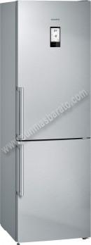 Frigorifico combi Siemens KG36NAI4P NoFrost Inox 186cm A