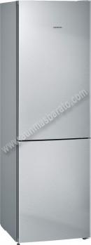 Frigorifico combi Siemens KG36NVI3A NoFrost Inox 186cm A