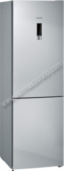 Frigorifico combi Siemens KG36NXI3A NoFrost Inox 186cm A