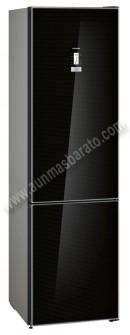 Frigorifico combi Siemens KG39FSB45 NoFrost Cristal Negro 203cm A