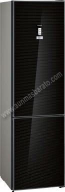 Frigorifico combi Siemens KG39NLB3A NoFrost Cristal Negro 203cm A