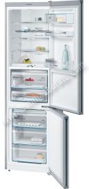 Frigorifico combi Bosch KGF39SW45 NoFrost Cristal blanco 203cm A