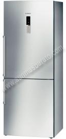 Frigorifico combi Bosch KGN46AI22 NoFrost Inox 185cm A
