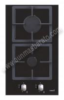 Placa modular con mandos Cata LCI302 marco inox