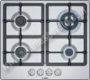 Placa de gas Bosch PGH6B5B90 Acero inoxidable 60cm 4 Zonas