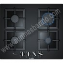 Placa de gas Bosch PPP6A6B20 Cristal templado Negro 60cm 4 Zonas