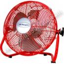 Ventilador Orbegozo PW1430 Rojo 3 velocidades