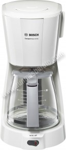 Cafetera de goteo Bosch TKA3A031 CompactClass Blanca