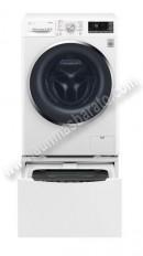 Lavadora doble tambor LG TWOC09W 9 2Kg 1400rpm Blanca A