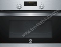 Horno compacto multifuncion Balay 3CB4030X0 Acero inoxidable
