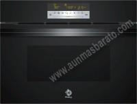 Horno compacto Multifuncion con microondas Balay 3CW5178N0 Cristal negro