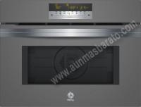 Horno compacto Multifunción con microondas Balay 3CW5179A0 Cristal gris