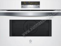 Horno compacto Multifunción con microondas Balay 3CW5179B0 Cristal Blanco