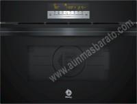 Horno compacto Multifunción con microondas Balay 3CW5179N0 Cristal Negro