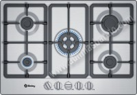 Placa de gas Balay 3ETX576HB Inox 75cm 5 zonas