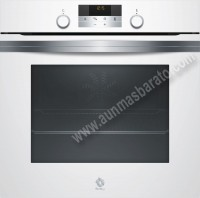 Horno multifuncion Balay 3HB5358B0 Cristal blanco