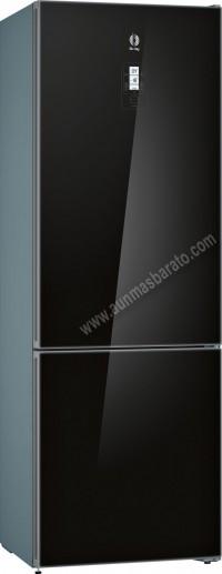 Frigorifico combi Balay 3KF6997BI NoFrost Cristal negro 203cm A