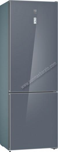Frigorifico combi Balay 3KF6997GI NoFrost Cristal gris 203cm A