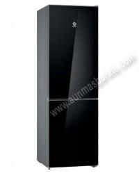 Frigorifico combi Balay 3KFE565BI NoFrost Cristal negro 186cm
