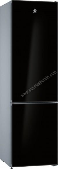 Frigorifico combi Balay 3KFE765BI NoFrost Cristal negro 203cm