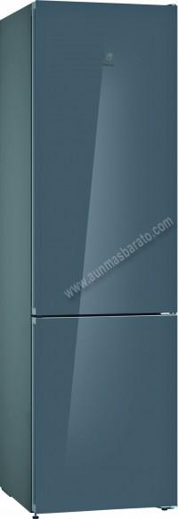 Frigorifico combi Balay 3KFE765GI NoFrost Cristal gris 203cm A
